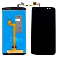 Alcatel İdol 5 Lcd Ekran Çıtasız Siyah (6058X)