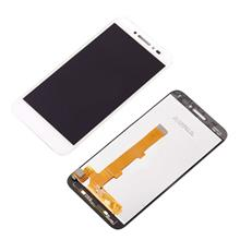 Alcatel Shine Lite Lcd Ekran Çıtasız Beyaz (5080X)