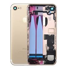 Apple İphone 7 Kasa Dolu Rose Gold Pembe