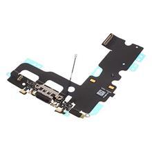 Apple İphone 7 Şarj Ve Mikrofon Filmi Siyah (A Kalite)