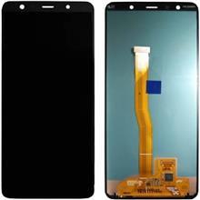 Samsung A7 2018 A750 Lcd Ekran Servis Siyah
