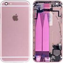 Apple İphone 6S Kasa Dolu Rose Gold Pembe