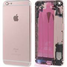 Apple İphone 6S Plus Kasa Dolu Rose Gold Pembe