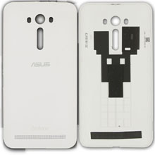 Asus Zenfone 2 Laser 5.5 Ze550kl Arka Kapak Beyaz