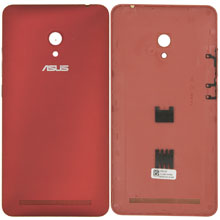 Asus Zenfone 6 Arka Kapak Kırmızı