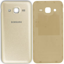 Samsung J200 J2 Arka Kapak Gold Altın
