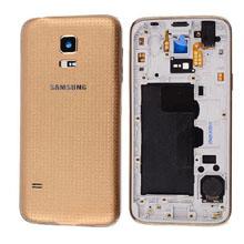 Samsung G800 S5 Mini Kasa 2 Sim Gold Altın