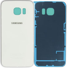 Samsung G920 S6 Arka Kapak Beyaz