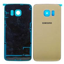 Samsung G925 S6 Edge Arka Kapak Gold Altın