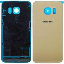 Samsung G928 S6 Edge Plus Arka Kapak Gold Altın