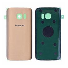 Samsung G935 S7 Edge Arka Kapak Gold Altın