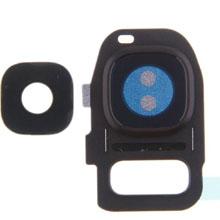 Samsung G930 S7 Kamera Camı Siyah (Tek Cam)