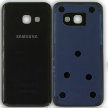 Samsung A3 2017 A320 Arka Kapak Siyah