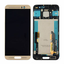 Htc One M9 Plus Lcd Ekran Çıtalı Gold Altın