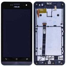Asus Zenfone 5 Lcd Ekran Çıtalı Siyah