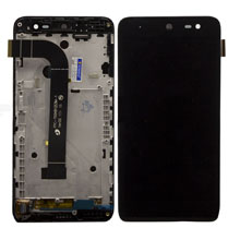 General Mobile Gm 4G Lcd Ekran Çıtalı Siyah