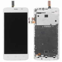 General Mobile Gm 4G Lcd Ekran Çıtalı Beyaz
