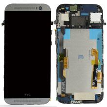 Htc One M8 Lcd Ekran Çıtalı Siyah