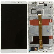 Huawei Mate 8 Lcd Ekran Çıtalı Beyaz