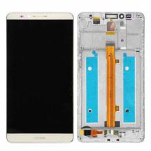 Huawei Mate 7 Lcd Ekran Çıtalı Gold Altın