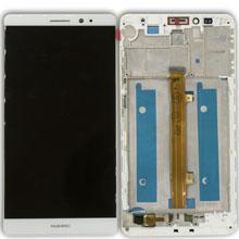 Huawei Mate 7 Lcd Ekran Çıtalı Beyaz