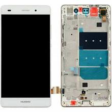 Huawei P8 Lcd Ekran Çıtalı Beyaz