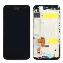 Huawei G7 Lcd Ekran Çıtalı Siyah