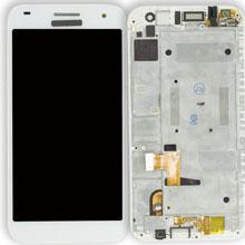 Huawei G7 Lcd Ekran Çıtalı Beyaz