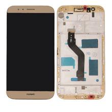 Huawei G8 Lcd Ekran Çıtalı Gold Altın
