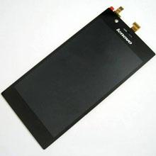 Lenovo K910 Lcd Ekran Çıtasız Siyah