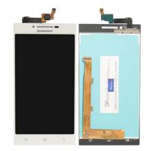 Lenovo Vibe P70 Lcd Ekran Çıtasız Beyaz