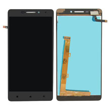 Lenovo Vibe P1m Lcd Ekran Çıtasız Siyah