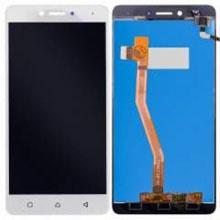 Lenovo K6 Note Lcd Ekran Çıtasız Beyaz