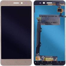 Lenovo K6 Note Lcd Ekran Çıtasız Gold Altın