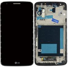Lg (D800) G2 Lcd Ekran Çıtalı Siyah
