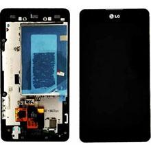 Lg Optimus G E975 Lcd Ekran Çıtalı Siyah