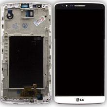 Lg D855 G3 Lcd Ekran Çıtalı Beyaz
