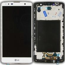 Lg K530 Stylus 2 Plus Lcd Ekran Çıtalı Beyaz