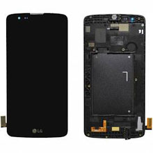 Lg K350 K8 Lcd Ekran Çıtalı Siyah