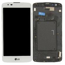 Lg K350 K8 Lcd Ekran Çıtalı Beyaz