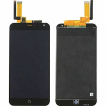 Meizu M1 Note Lcd Ekran Çıtasız Siyah