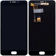 Meizu M3 Lcd Ekran Çıtasız Siyah