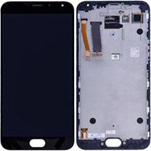 Meizu Mx5 Lcd Ekran Çıtasız Siyah