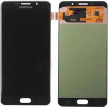 Samsung A7 2016 A710 Lcd Ekran Servis Siyah