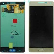Samsung A700 A7 Lcd Ekran Revizyon Orijinal Gold Altın
