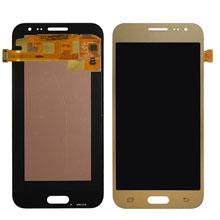 Samsung J200 J2 Lcd Ekran Servis Gold Altın