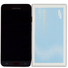 Samsung J3 2016 J320 Lcd Ekran Servis Siyah