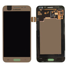 Samsung J500 J5 Lcd Ekran Servis Gold Altın