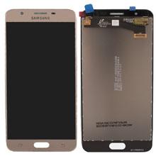 Samsung G610 J7 Prime Lcd Ekran Servis Gold Altın