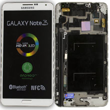 Samsung N9005 Note 3 Lte Lcd Ekran Revizyon Orijinal Beyaz